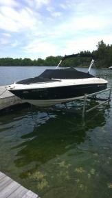 Example of a custom boat lift.